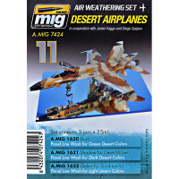 Weathering Set. Desert airplanes
