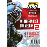 Weathering Set. Mechas 2