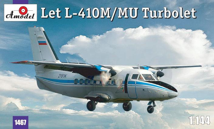 Let L-410M/MU Turbolet aircraft