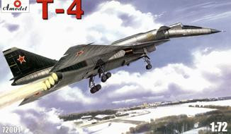 T-4 (SOTKA) Soviet supersonic strategic bomber