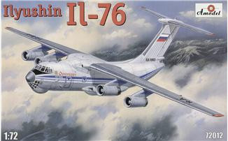 Ilyushin Il-76 transport aircraft