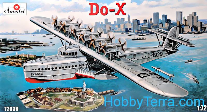 Amodel  72036 Dornier Do-X flying boat ⮕⮕⮕ FREE SHIPPING
