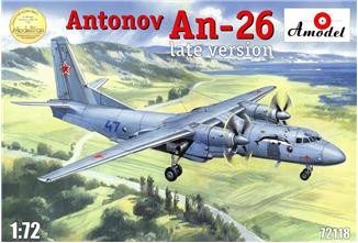 Amodel  72118 An-26, late version