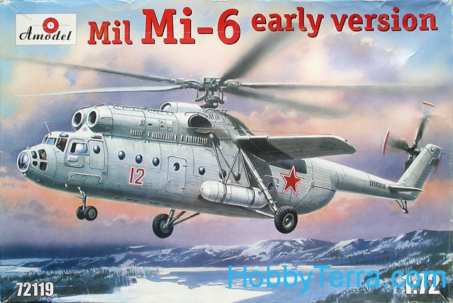 Mi-6 Soviet helicopter, early
