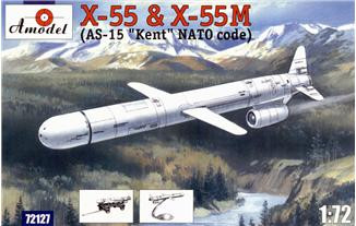 Amodel  72127 X-55 & X-55M (AS-15 Kent) strategic missile