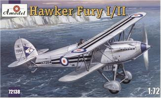 Amodel  72138 Hawker Fury I/II USAF fighter