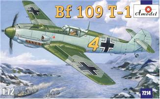Messerschmitt Bf 109 T-1 fighter