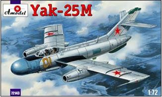 Amodel  72143 Yak-25M Soviet fighter