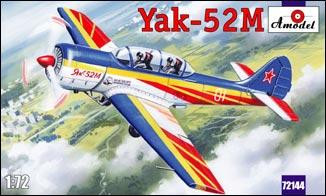 Yak-52M Soviet two-seat sporting aircraft