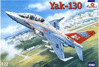 Amodel  72157 Yak-130 two-seat jet trainer