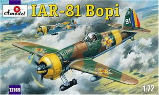 "IAR-81 ""Bopi"" Romanian fighter"