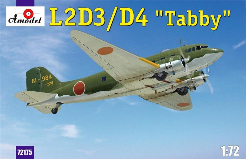 "Amodel  72175 L2D3/D4 ""Taddy"" Japan transport aircraft"