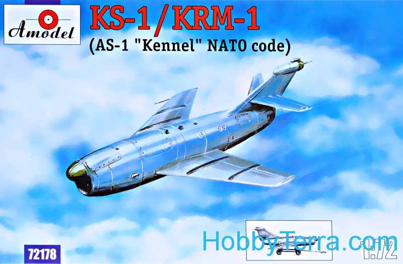 Amodel  72178 KS-1 / KRM-1 Soviet guided missile