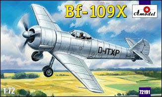 Amodel  72191 Bf-109X German experimental aircraft