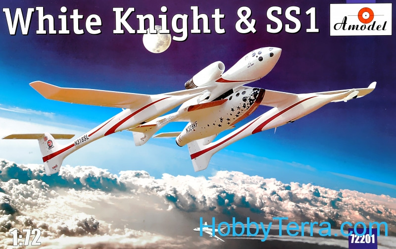 White Knight & SS1 aircraft