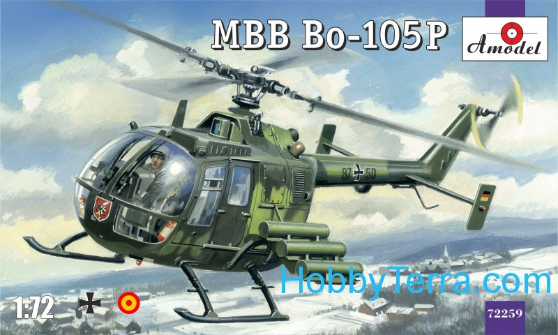 MBB Bo-105P helicopter, military version