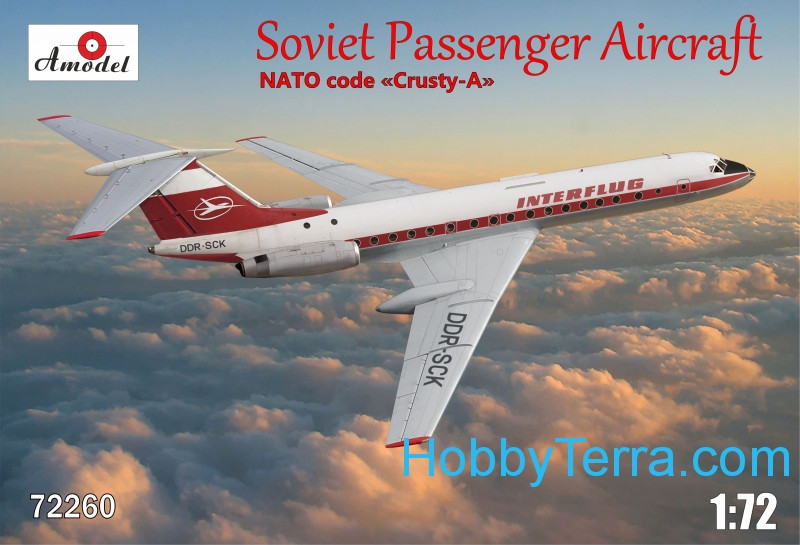 Tu-134 Interflug airlines