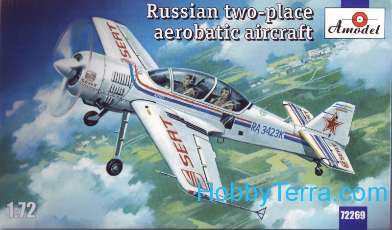 Sukhoi Su-29 Russian two-place aerobatic aircraft