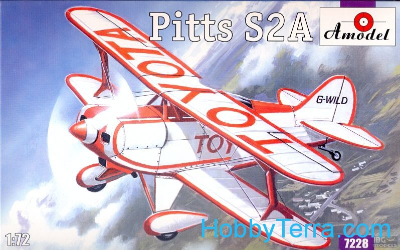 Pitts S2A sport aircraft