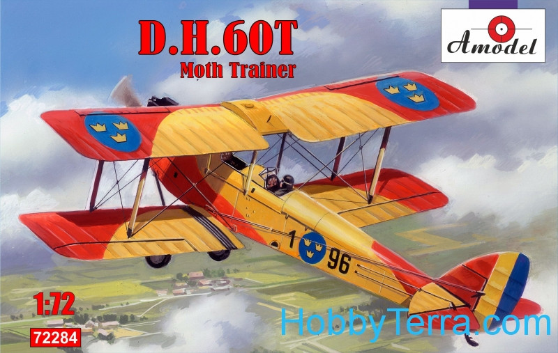 Amodel  72284 de Havilland DH.60T Moth Trainer