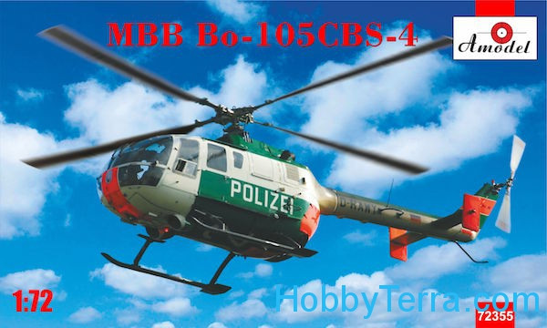 Amodel  72355 Helicopter MBB Bo-105CBS-4