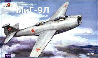 MiG-9L Soviet experimental fighter