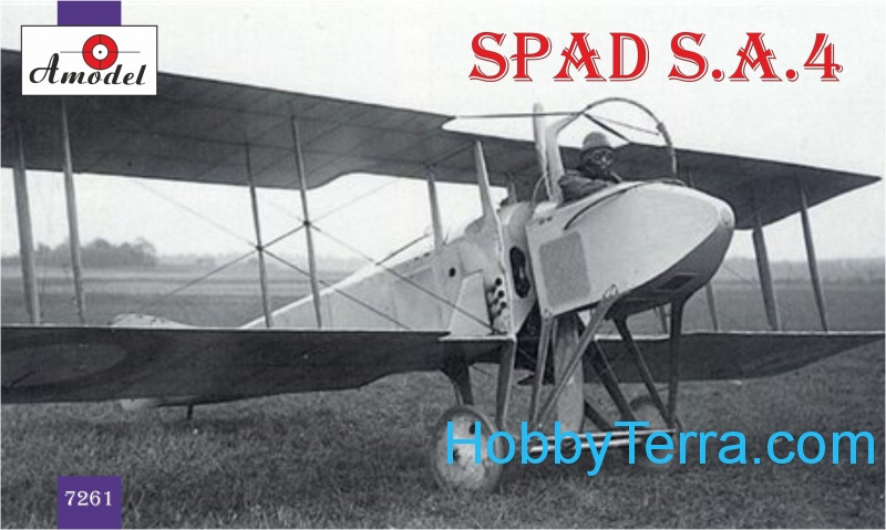 Amodel  7261 SPAD S.A.4 French WWI fighter (Re-release)