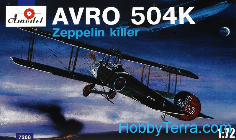 AVRO-504K Zeppelin Killer aircraft