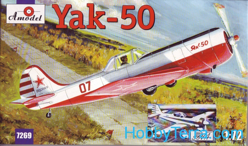Amodel  7269-01 Yak-50/50-2 sporting aircraft (old Amodel 7269 or 7294)