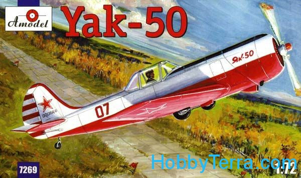 Yakovlev Yak-50 single-seat sporting aircraft