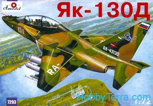Amodel  7293 Yak-130D Russian modern trainer aircraft
