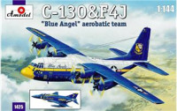 "C-130&F4J ""Blue Angel"" Aerobatic team"