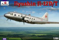 Ilyushin IL-12D/T Soviet military transport aircraft