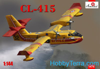 CL-415 amphibious aircraft