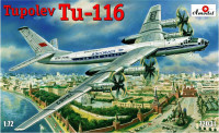 "Tupolev Tu-116 passenger aircraft<span style=""color: #ff0000""> FREE SHIPPING</span>"