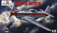 Yak-3 VK107A Soviet fighter