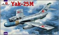 Yak-25M Soviet fighter