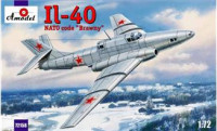 "IL-40 ""Brawny"" Soviet jet-engined armored aircraft"