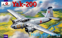 Aircraft plastic model Yak – 200