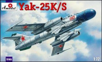 Yak-25K/S Soviet fighter