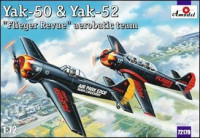"Yak-50 & Yak-52 ""Flieger Revue"" aerobatic team"