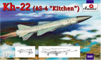 "Kh-22 (AS-4 ""Kitchen"") long-range anti-ship missile"