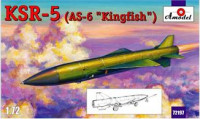 "KSR-5 (AS-6 ""Kingfish"") long-range anti-ship missile"