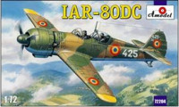 IAR-80DC Romanian training aircraft