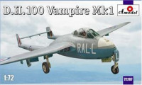 D.H.100 Vampire Mk1 RAF jet fighter