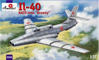 "Ilyushin IL-40 ""Brawny"" Soviet jet-engined armored aircraft, 2nd ptototype"