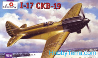 Polikarpov I-17 (CKB-19) Soviet single-seat fighter prototype