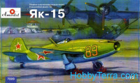 Yakovlev Yak-15 Soviet jet fighter. Re-release. Limited edition.