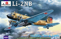 Night intruder LI-2NB aircraft