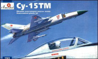 Sukhoi Su-15TM Soviet interceptor